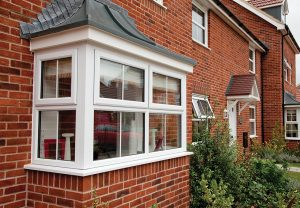 White uPVC Bay Windows