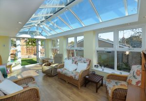 Internal picture of an orangery