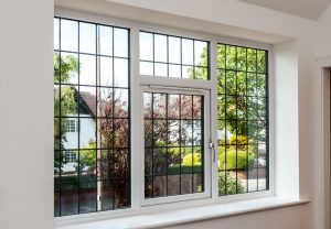 Leaded uPVC windows