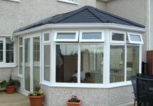 Modern conservatory roof