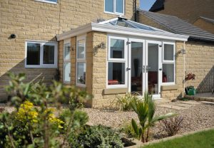 White Glazed Extension