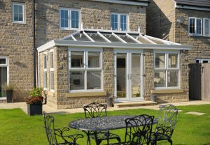 White orangery installation
