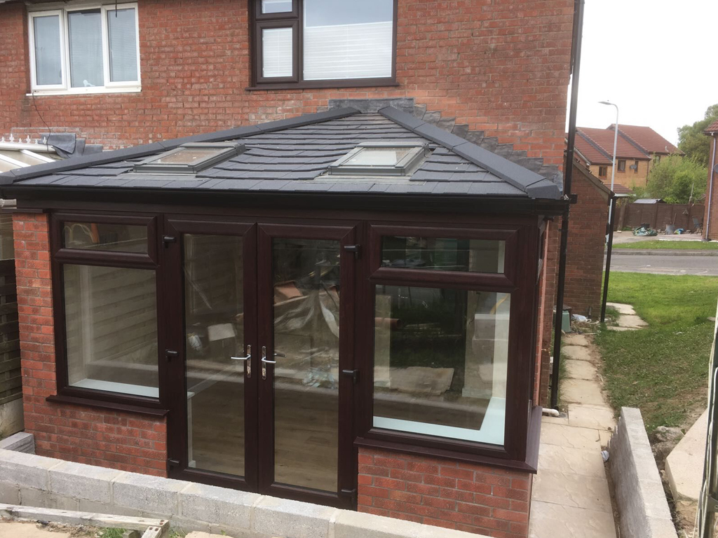 Guardian Warm Roof Tiled Conservatory Roofs swansea