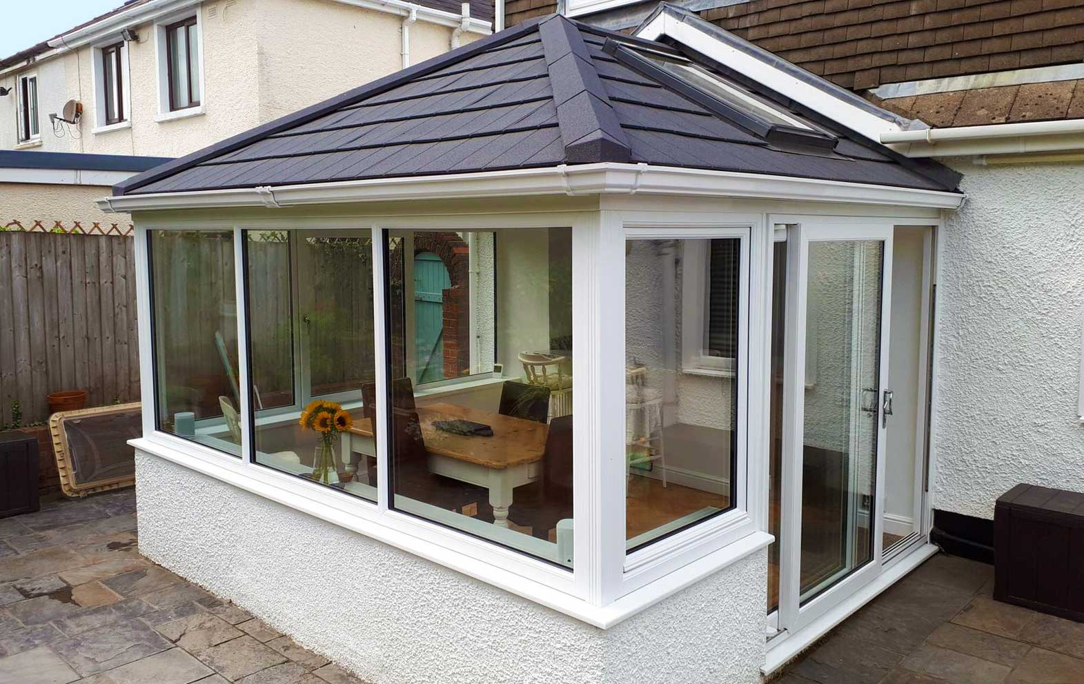 tiled conservatory roof costs swansea