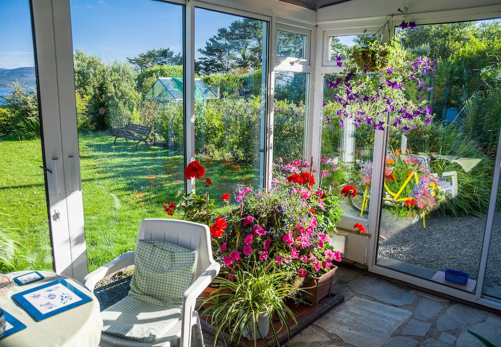 Secure garden rooms