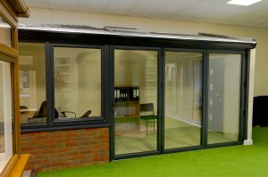 Grey Conservatory in Showroom
