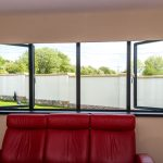 Aluminium windows installation