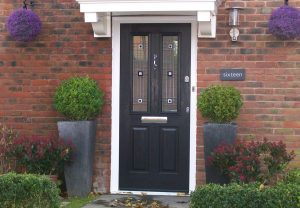 Composite door installation