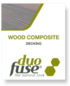 Duofuse wood composite cover