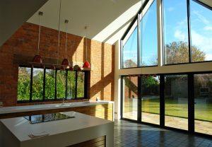 Grey Aluminium Windows and Doors