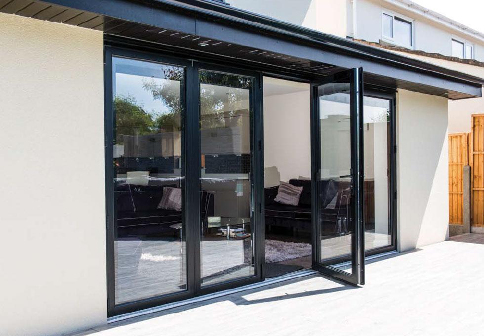 aluminium bi-fold doors costs swansea
