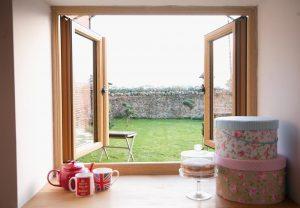 Residence 9 Open Casement Windows