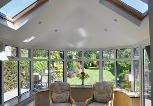 Warm roof skylights